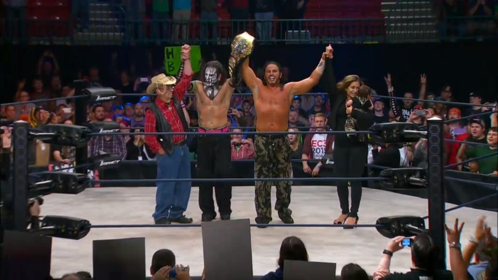 Matt Hardy Wins The TNA World Title Yay